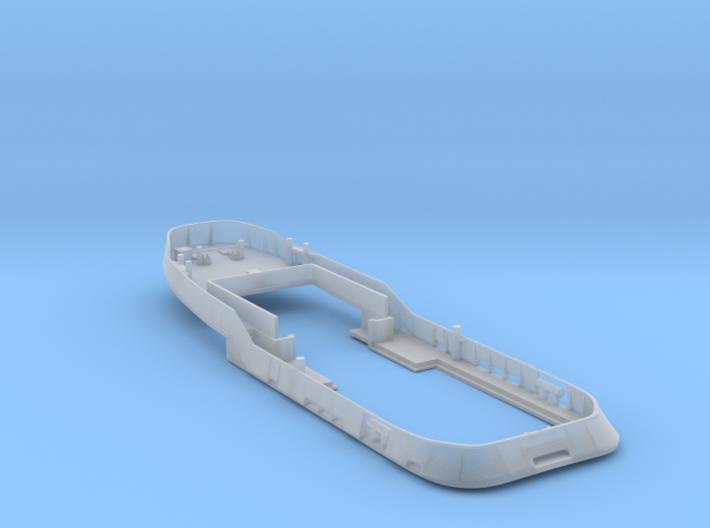Main Deck & Bullwark 1/160 V56 fits Harbor Tug 3d printed