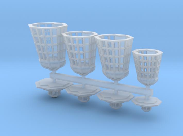 1:90 HMS Victory Lanterns 3d printed