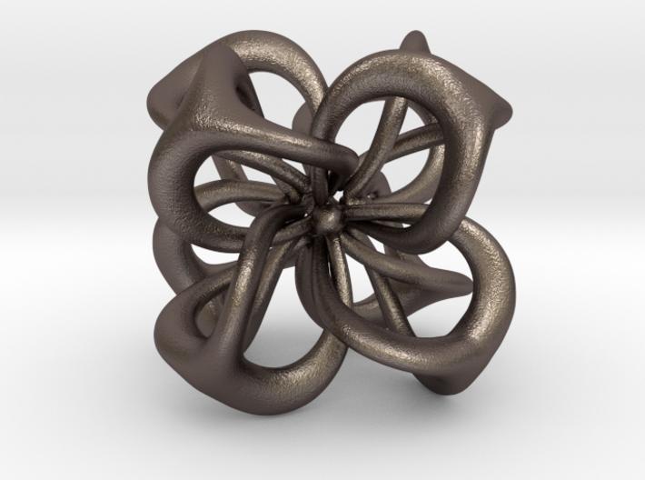 Flower in 4 Dimensions 3d printed