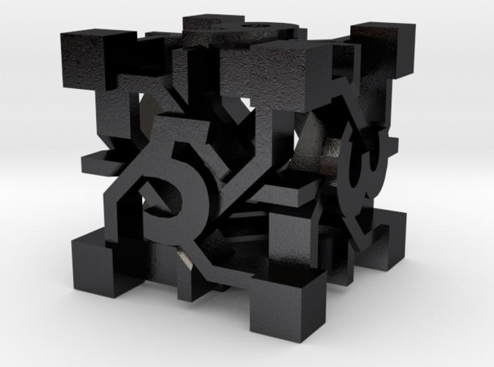Intangle Die6 3d printed