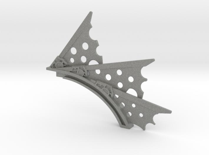 Stasis Field spine 3d printed
