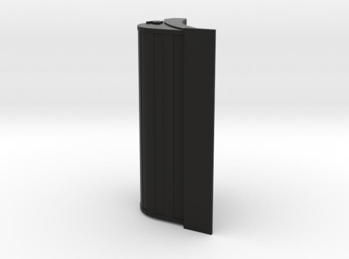 Slotenbak/brede bak voor 13-16 tons kranen, schaal 3d printed brede bak / slotenbak 1:50 13-16 tonner grover materiaal