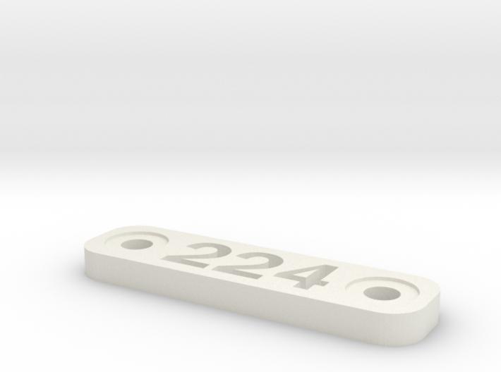 Caliber Marker - MLOK - 224 Valkyre 3d printed