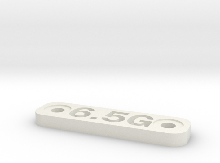 Caliber Marker - MLOK - 6.5 Grendel 3d printed