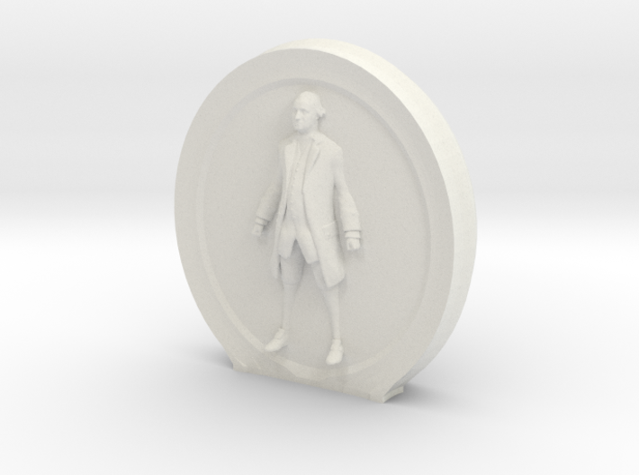 Cosmiton M George Washington - 55 mm 3d printed
