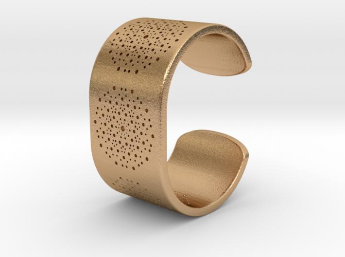 Quasicrystals Diffraction Pattern Bracelet 3d printed