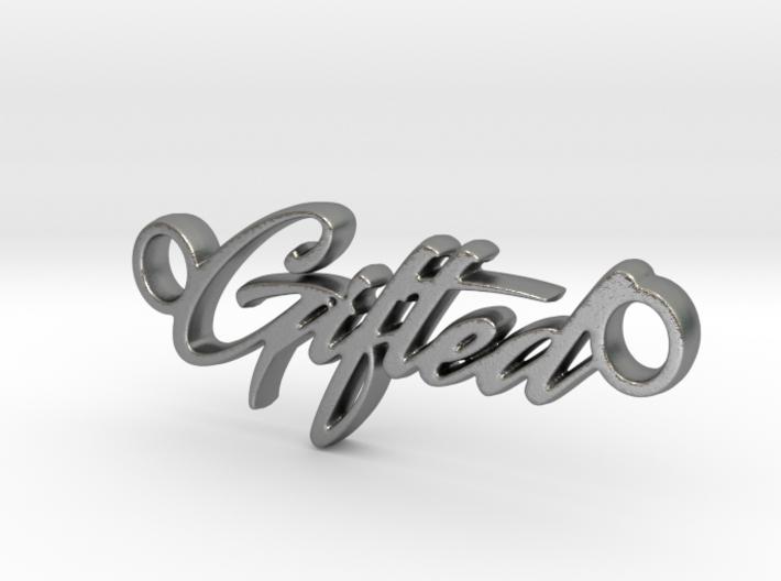 Gifted Pendant - Metal 3d printed