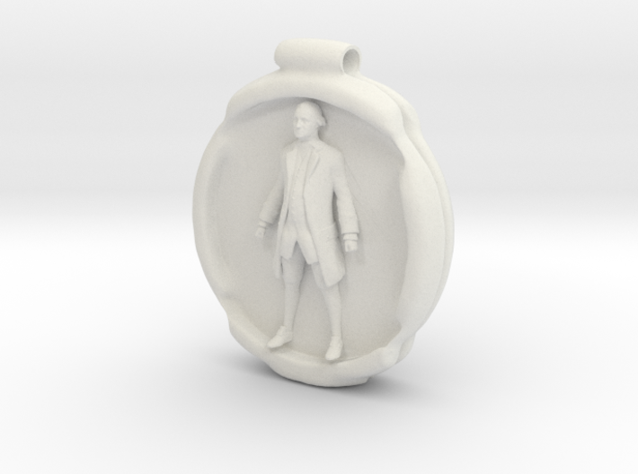 Cosmiton P George Washington - 50 mm 3d printed