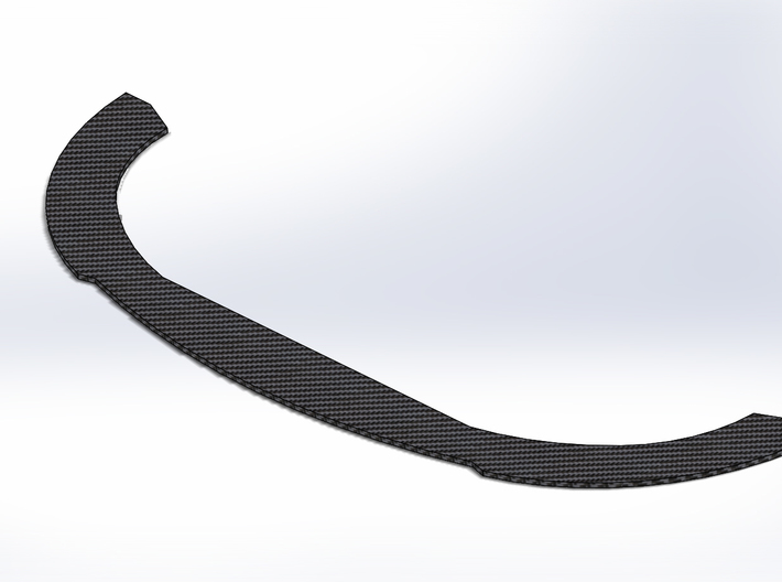 Ford Fusion/Chevy SS Gen 6 Superspeedway Splitter 3d printed