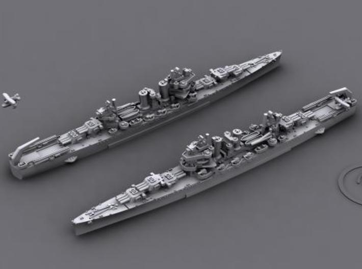 US CL Brooklyn class [1942] (7+2) 3d printed Brooklyn [1942]