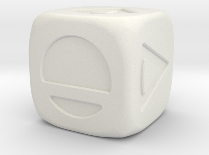 Star wars Sabacc Solo Dice Small 16mm 3d printed