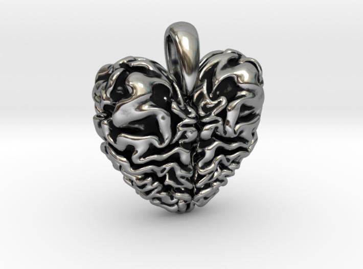 Dragon heart pendant j6dwgdcnk by lurasdesign dragon heart pendant 3d printed mozeypictures Gallery