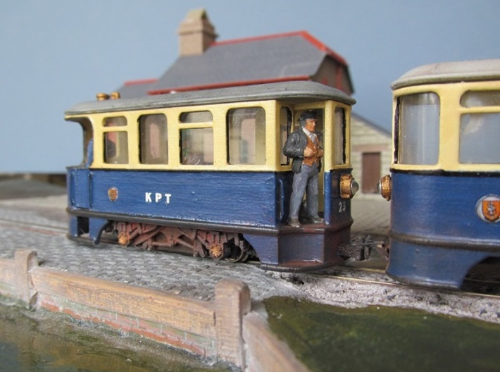 009 KP Steam Tram 3d printed