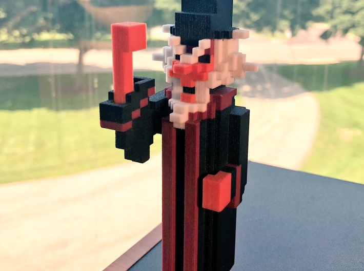 Angry Wizard 3d printed