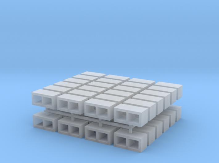 Cinder Blocks (x48) 3d printed