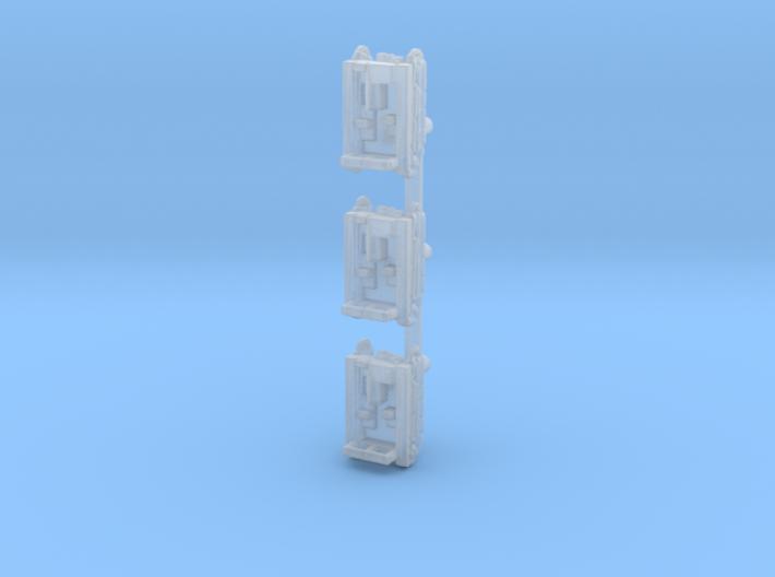 C2P 1:700x3 3d printed