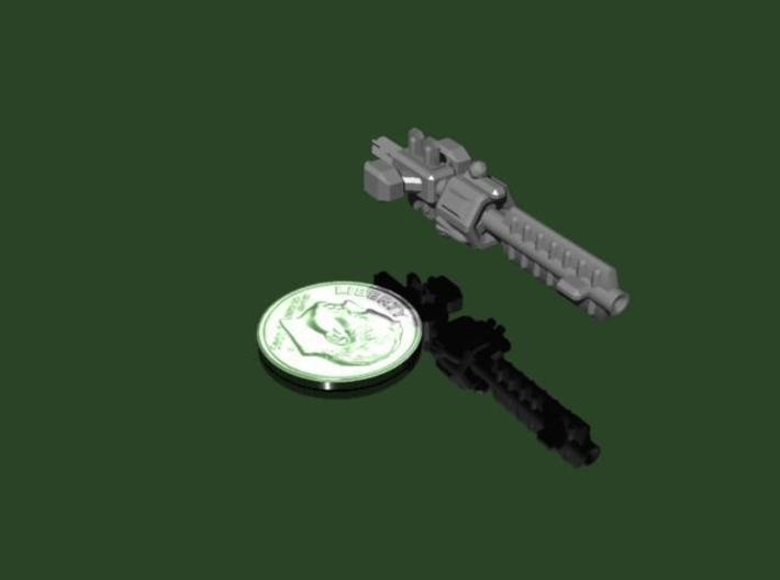 Sol Beam Cannon Ship 3d printed