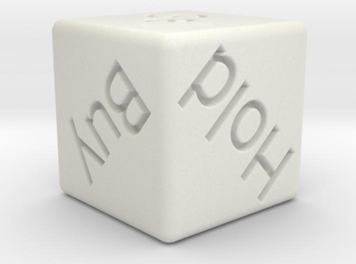 Investor's Dice 3d printed