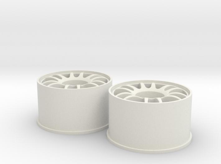 Split-6 Rear 20mm Mini-Z Wheel 3d printed