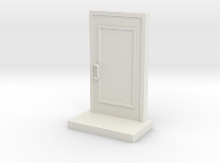 Glass Commercial Door 3d printed