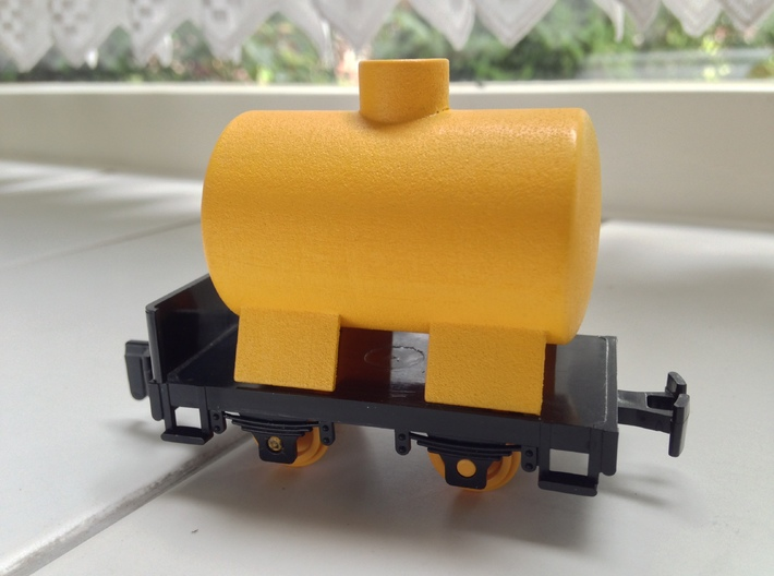 Gnomy Tank Wagon 3d printed Product placed on a Gnomy chassis