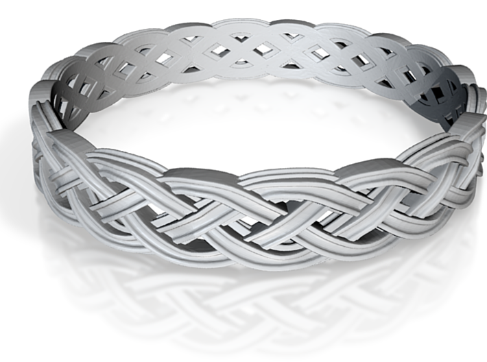 Hieno Delicate Celtic Knot Size 9 3d printed