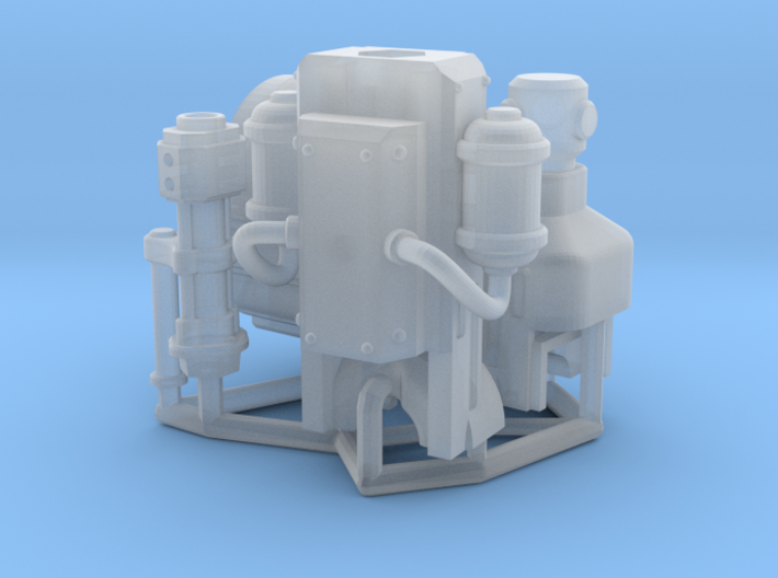 Squire-Engine Autobombard (short barrel) 3d printed
