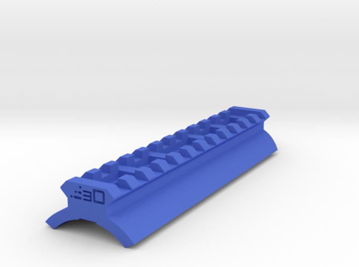 Shotgun Receiver Picatinny Rail (Glue On) 3d printed