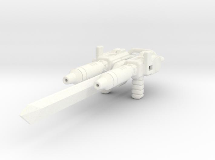POTP Battletrap Weapon Accessories 3d printed