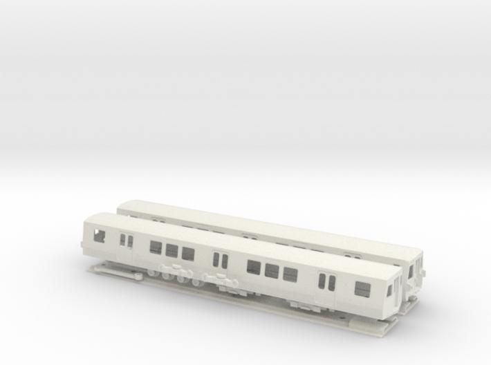 HO Scale Washington DC Metro 7000 (2) 3d printed