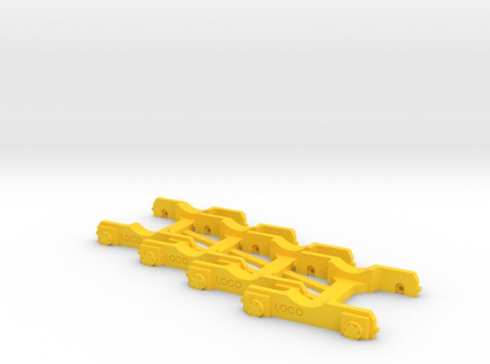 "4 x ""Loco Buggy V 1.0"" H0 (1:87) 3d printed"