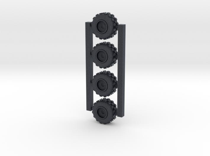 18mm diameter miniature wheels 3d printed