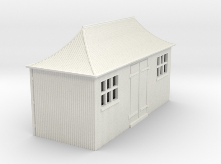 z-76-gwr-pagoda-shed-1 3d printed