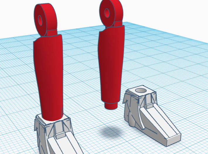 Time Boots 4 Pack 3d printed