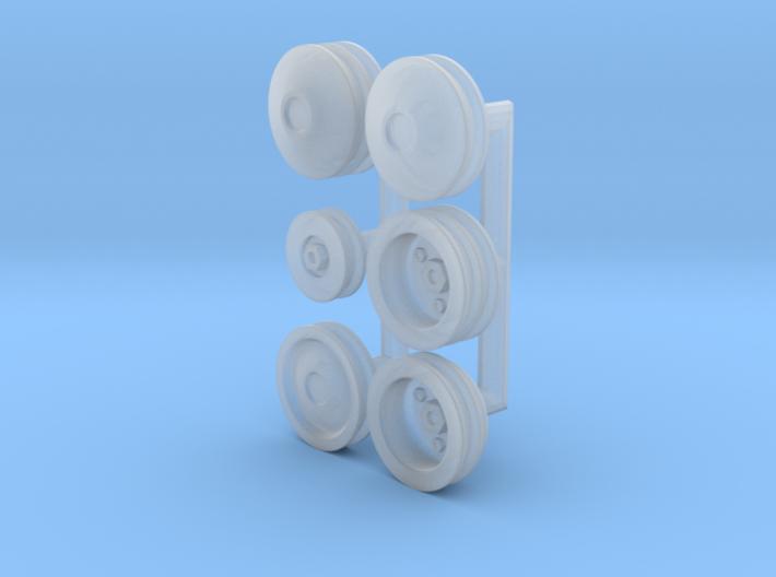 1/25 Generic Pulleys 3d printed