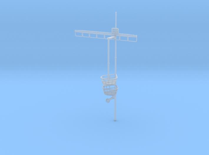 1/350 DKM Graf Zeppelinsuperstructure4mast 3d printed