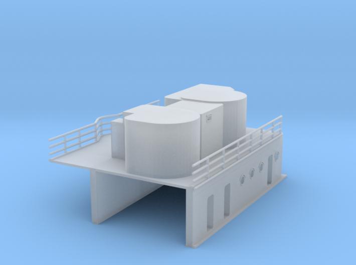 1/350 DKM Graf Zeppelinsuperstructure3 3d printed