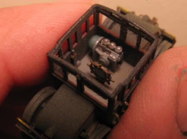N Scale (1:160) PRR Electric Switcher 3d printed Painted switcher and interior.
