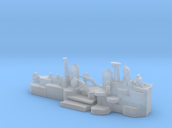 1/600 HMS Vanguard superstructure 3d printed