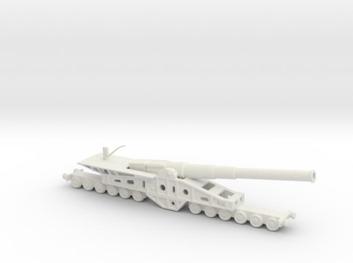 Canon de 340 mm 1/144 railway artillery 3d printed