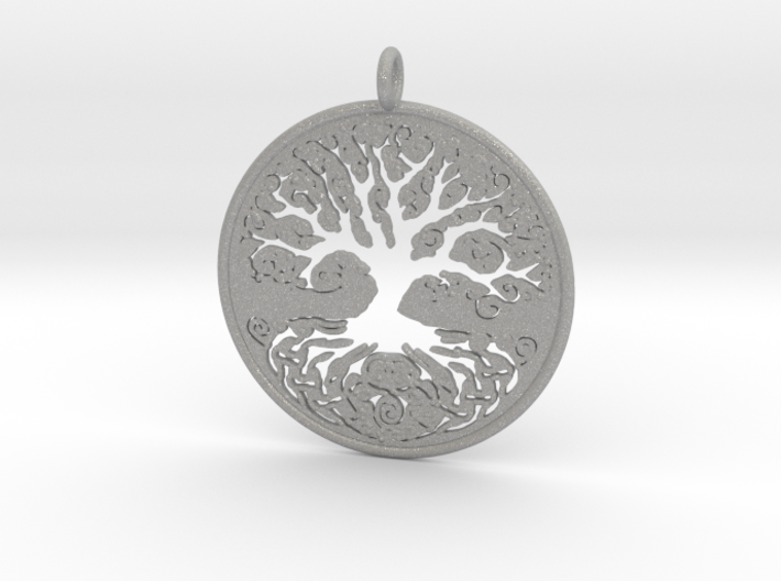 Celtic Knot Tree of life Pendant 3d printed