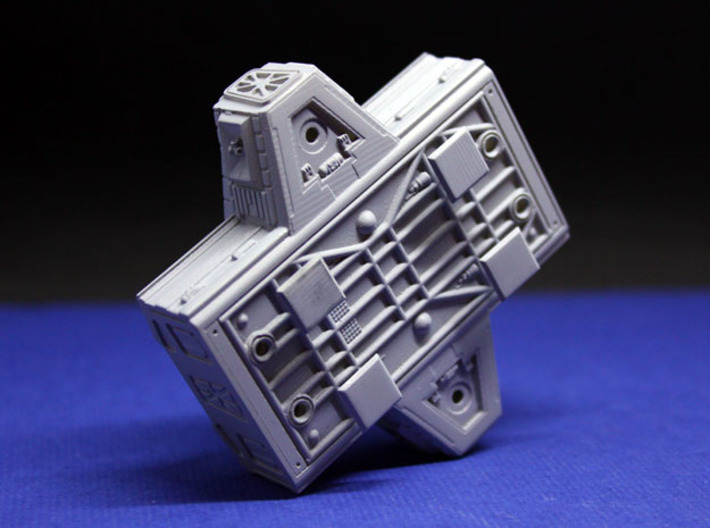 SPACE 2999 TRANSPORTER 1/144 LAB POD 3d printed Totally screen accurate.