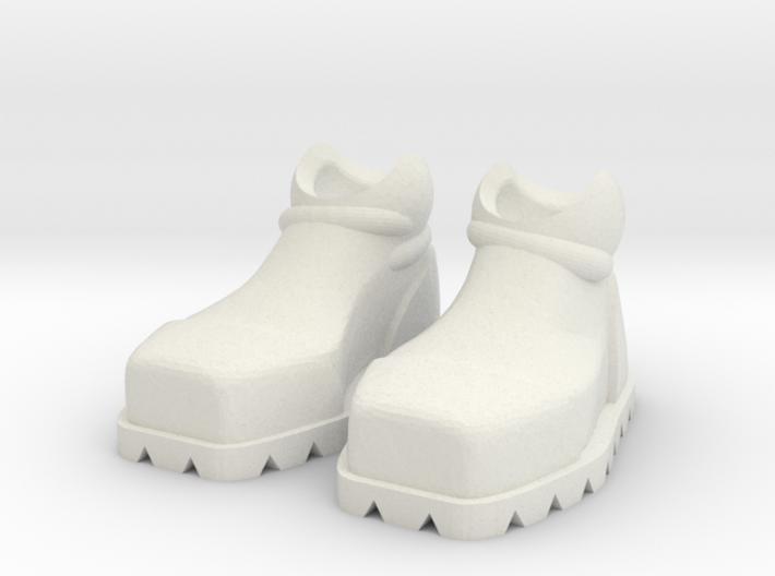 ExoSkin Boot Set for ModiBot 3d printed ExoSkin Boot Set for ModiBot