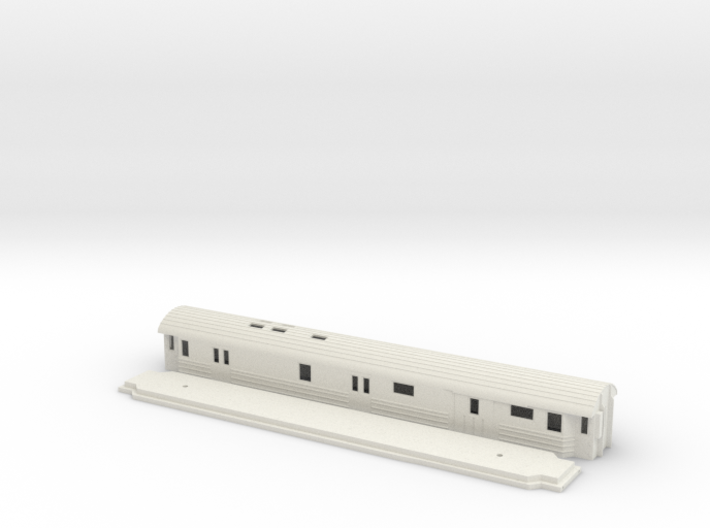 DFo18 - Swedish passenger wagon 3d printed