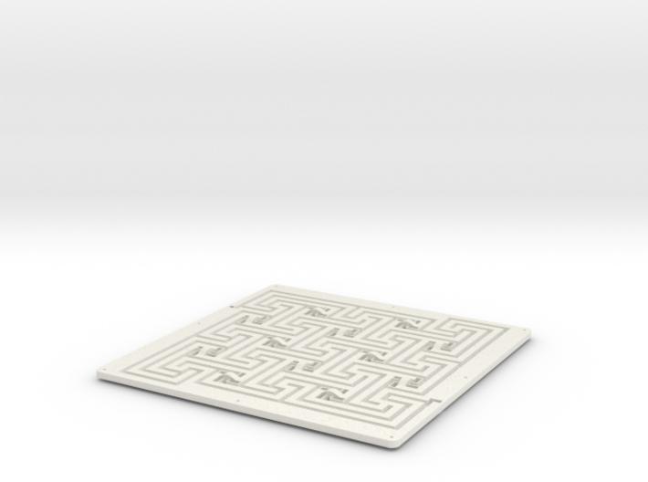 Andrea's Maze 3d printed