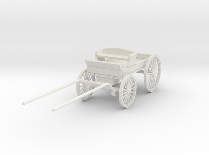 HDV02 Buckboard - Stablemate (1/32) 3d printed