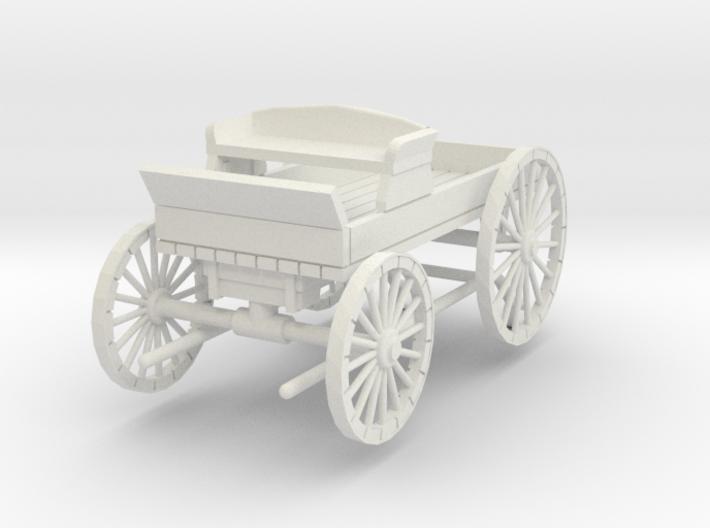 HDV02C Buckboard - Little Bits (1/24) 3d printed
