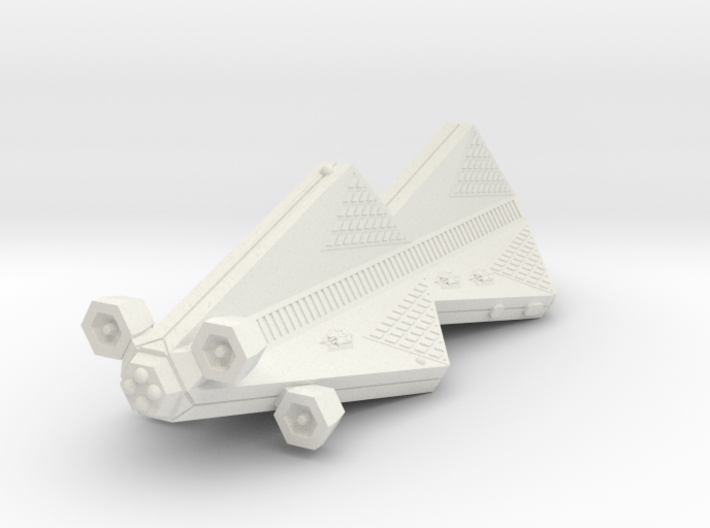 3125 Scale Tholian Scout Carrier (CSV) SRZ 3d printed