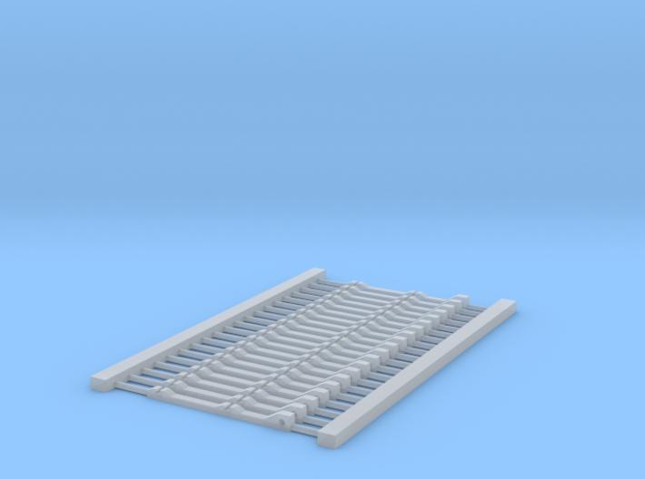 HOn30 code 40 stub switch bridle 3d printed