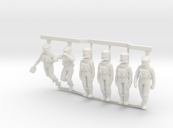 2001 Discovery Astronauts 1:48 3d printed